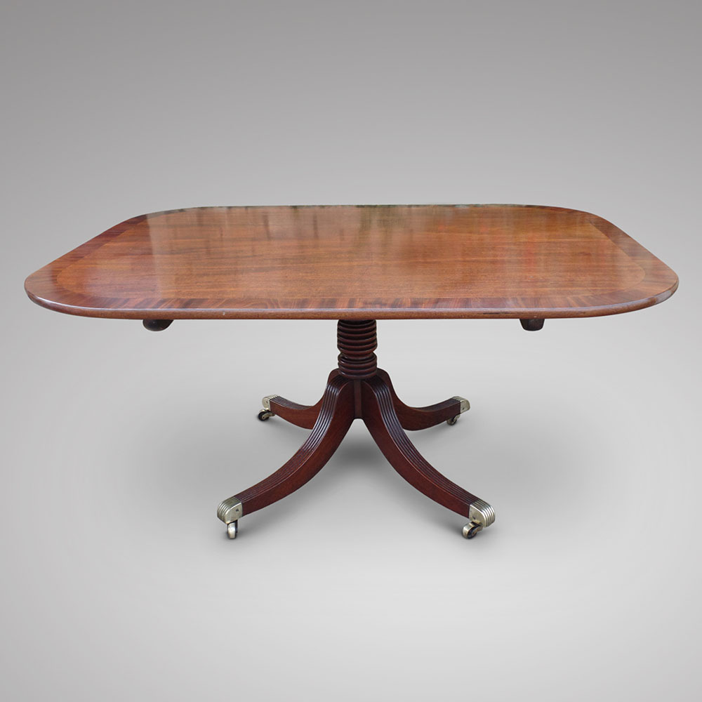 Solid Mahogany Breakfast Table